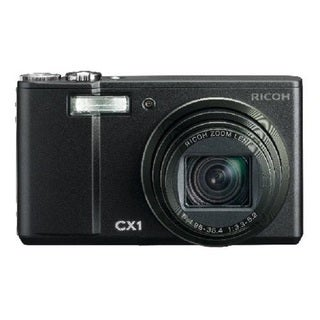 Ricoh Caplio CX1 9MP Black Digital Camera