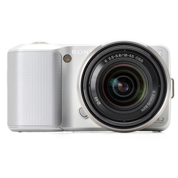 Sony DSLR-NEX3 Silver Digital Camera (Body Only)