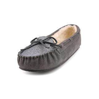 Minnetonka Women's 'Glitter Kayla' Regular Suede Casual Shoes