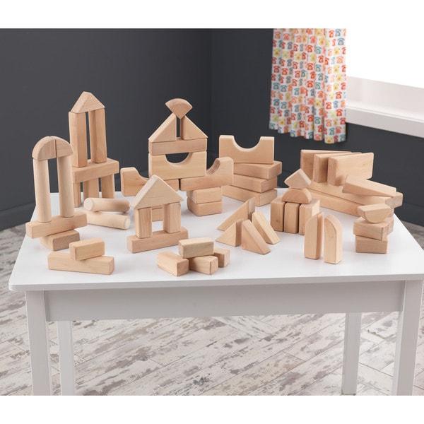 KidKraft 60-piece Wooden Block Set