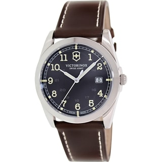 Victorinox Swiss Army Men's Infantry 241563 Brown Leather Watch
