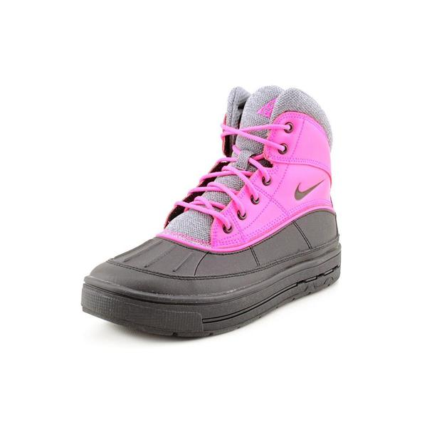 Nike Girl (Youth) 'Woodside 2 High (GS)' Leather Boots