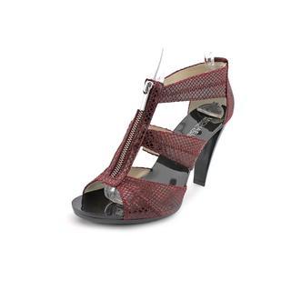 Michael Kors Women's 'Patrica' Leather Sandals (Size 9.5 )