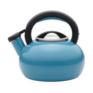 Circulon 2-quart Turquoise Sunrise Teakettle
