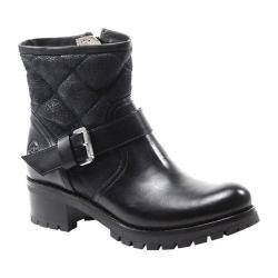 Women's Bronx Flor Ene Black Leather
