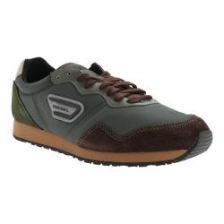 Men's Diesel Black Jake Kursal Sneaker Deep Forest/Java