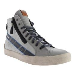 Men's Diesel D-Velows D-String Plus Mid Sneaker Paloma/Silver Birch