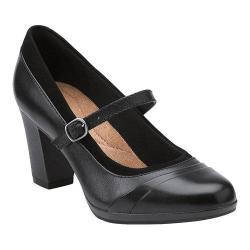 Women's Clarks Brynn Ivy Black/Combination Leather