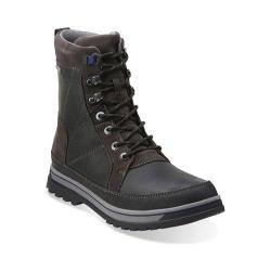 Clarks Men's Boots Ripway Peak GORE-TEX Black Leather