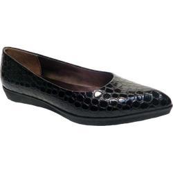 Women's Bellini Freda Flat Black Croc