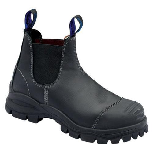 s blundstone xfoot rubber range slip on boot black
