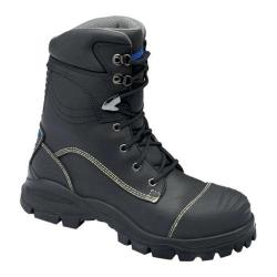 Men's Blundstone Xfoot Rubber Range Lace Up Boot Black Leather
