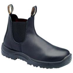 Men's Blundstone Xtreme® Safety Range Slip On Boot Black Premium Oil Tanned