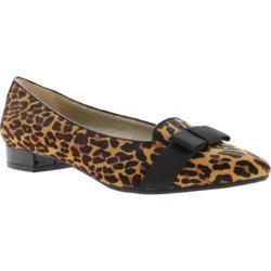 Women's Anne Klein Kyrena Flat Leopard Fabric
