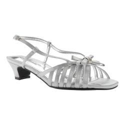 Women's Annie Epic Sandal Silver Satin