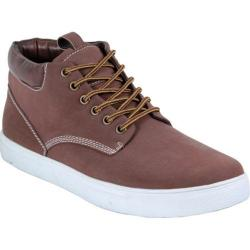Men's Arider Bob-01 High Top Sneaker Brown PU