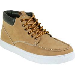 Men's Arider Bob-02 Moc Toe Ankle Boot Tan PU