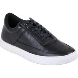 Men's Arider Carl-02 Perforated Sneaker Black PU