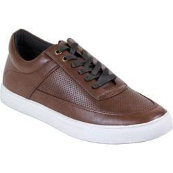 Men's Arider Carl-02 Perforated Sneaker Dark Brown PU
