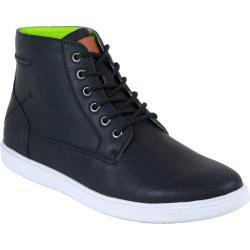 Men's Arider Chase-01 High Top Sneaker Black PU