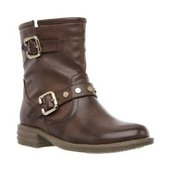 Girls' Skechers Mad Dash Buckle Shuffles Boot Brown