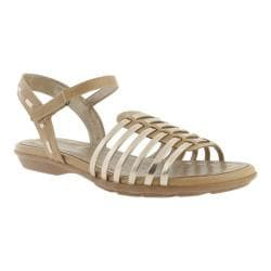 Women's Easy Spirit Rensdale Taupe/Light Gold Synthetic