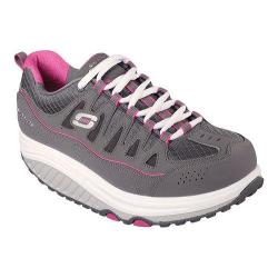 Women's Skechers Shape-ups 2.0 Comfort Stride Charcoal/Pink