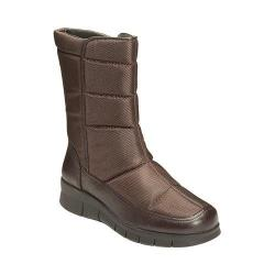 Women's A2 by Aerosoles Thermal Winter Boot Brown Fabric