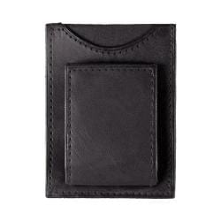 Daxx Magnetic Leather Money Clip Black