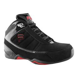 Children's Fila Change the Game Black/Metallic Silver/Chinese Red