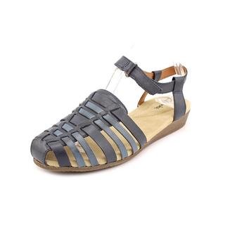 Clarks Women's 'Jaina Canary Q' Leather Sandals - Wide