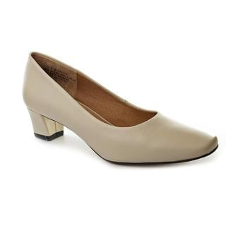 Auditions Women's 'Classical' Leather Dress Shoes - Extra Narrow (Size 11 )