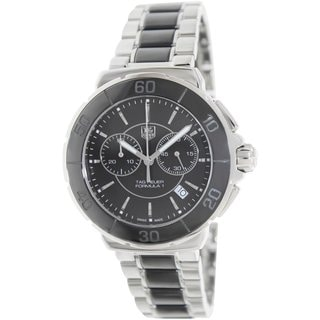 Tag Heuer Women's Formula CAH1210.BA0862 Two-tone Stainless Steel Swiss Quartz Watch