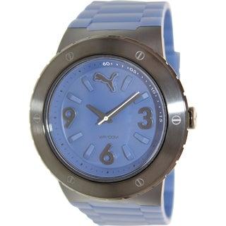 Puma Men's Blast PU103331003 Blue Rubber Analog Quartz Watch