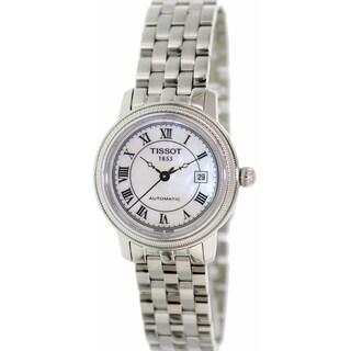 Tissot Women's Bridgeport T045.207.11.113.00 Stainless Steel Automatic Watch