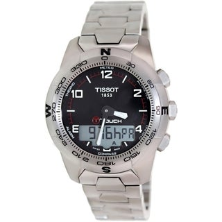 Tissot Men's T047.420.44.057.00 Grey Titanium Swiss Quartz Watch