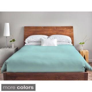 88 x 88 Ocean Blue Solid Duvet Cover