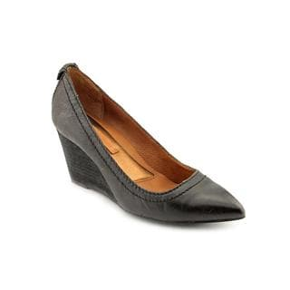Calvin Klein Jeans Women's 'Barbie Tumbled' Leather Dress Shoes (Size 6 )
