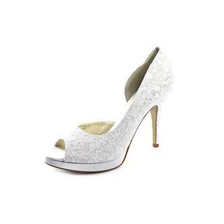 Allure Bridals Women's 'Kelly' Lace Dress Shoes (Size 10 )