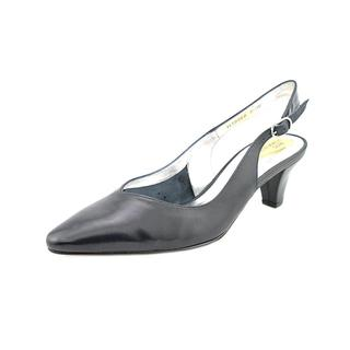 Ros Hommerson Women's 'Annette' Leather Dress Shoes - Wide (Size 8.5 )
