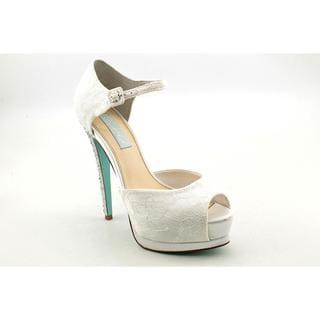 Betsey Johnson Women's 'Veil' Fabric Dress Shoes (Size 10 )