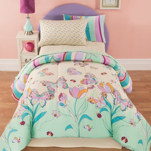 Penelope Floral 8-piece Bed In A Bag Set