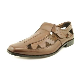 Stacy Adams Men's 'Valencia' Leather Dress Shoes - Wide (Size 15 )