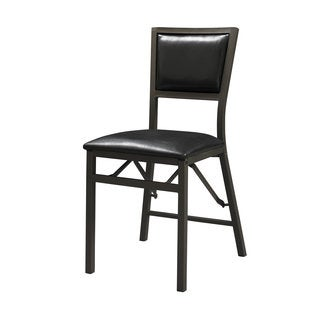 Linon Arista Padded Back Folding Chair