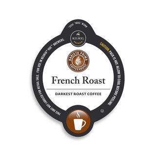 Barista Prima Coffeehouse French Roast Coffee, Vue Cup Portion Pack for Keurig Vue Brewing Systems