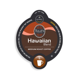 Tully's Hawaiian Blend Coffee, Vue Cup Portion Pack for Keurig Vue Brewing Systems