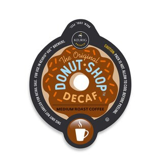 The Original Donut Shop Decaf Coffee, Vue Cup Portion Pack for Keurig Vue Brewing Systems