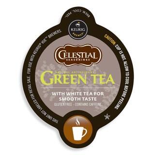 Celestial Seasonings Green Tea, Vue Cup Portion Pack for Keurig Vue Brewing Systems