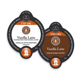 Barista Prima Coffeehouse Vanilla Latte, Vue Cup Portion Pack for Keurig Vue Brewing Systems