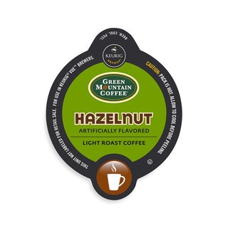 Green Mountain Coffee Hazelnut Coffee, Vue Cup Portion Pack for Keurig Vue Brewing Systems
